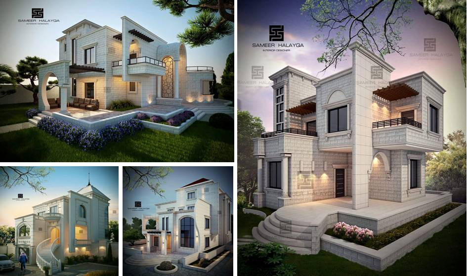 20 exterior villa designs by the best designer decor units for Villa exterior design ideas