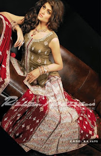 Pakistani Lehenga and Ghararah Collection