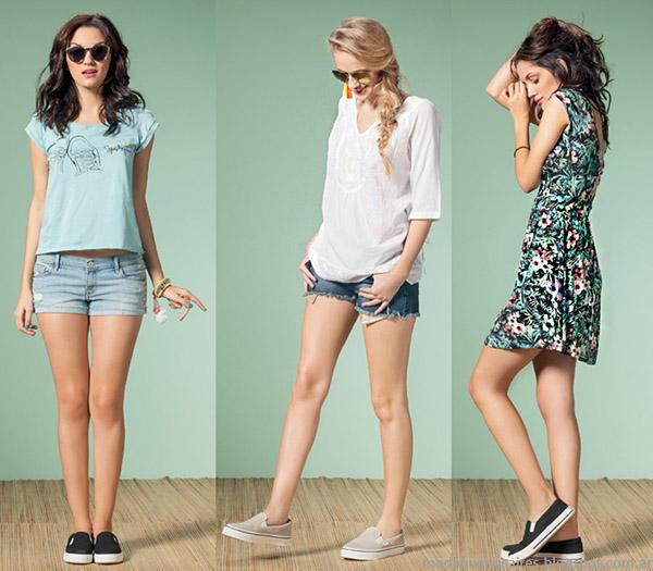 Núcleo Moda primavera verano 2015 blusas y remeras de moda 2015.