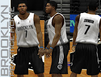 NBA 2K13 Brooklyn Nets Practice Home Jersey