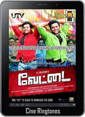 Vettai Tamil Ringtones Download