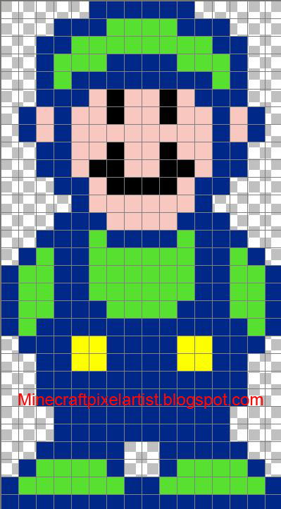 minecraft pixel art templates and tutorials