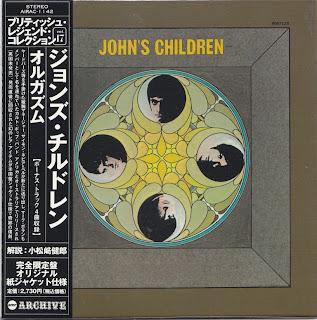 JOHN\'S CHILDREN - ORGASM (WHITE WHALE 1970) Jap mastering cardboard sleeve + 4 bonus
