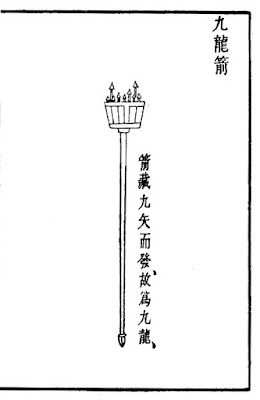 Ming Dynasty Nine-shot Flechette Handgonne