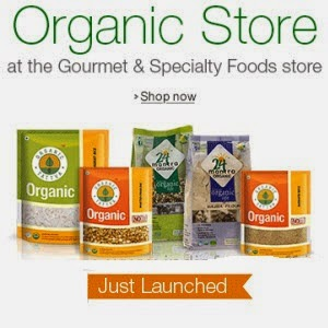 Aamzon: 20% off on Finesh, Healthy or Natural Organic food Products from Rs.16