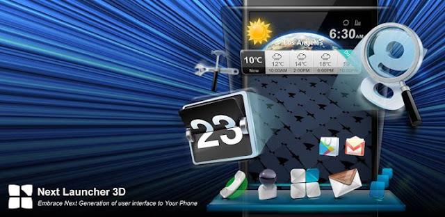 Next Launcher 3D v1.51 Apps APK