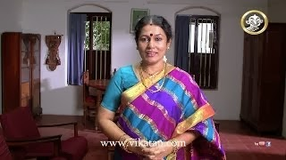 Deivamagal Promo 19/10/13 : Saroja (Sabitha) invites all Viewers