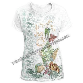 kaos-desain-batik-motip-bunga-abstrak