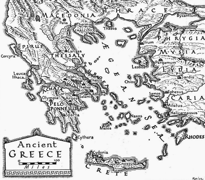 Historia de las civilizaciones: Grecia Antigua. Etapas históricas