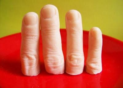 صابون على شكل أصابع-منتهى
