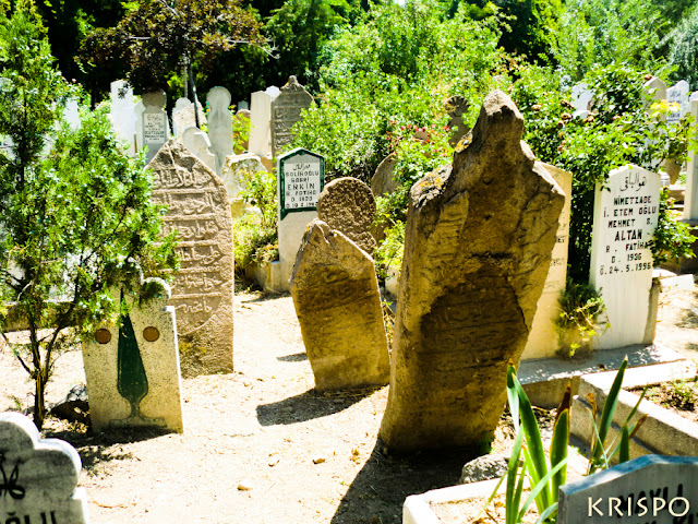Lápidas de cementerio de Turquía