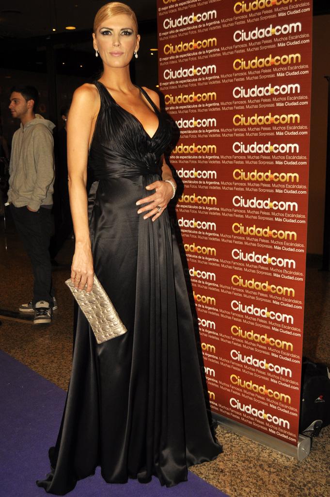 Famosas argentinas embarazadas vestidas de fiesta