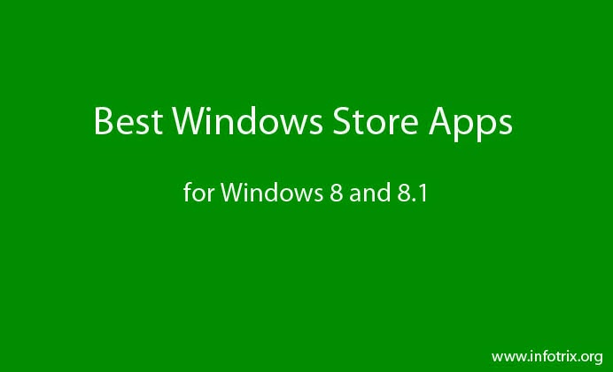 best Windows Store apps