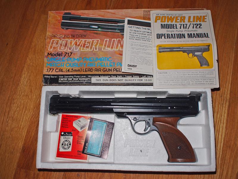 the casual shooter the daisy avanti 717 target pistol rh casualshooter blogspot com