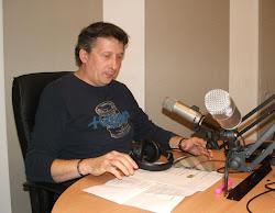 Dr. Boros in the studio