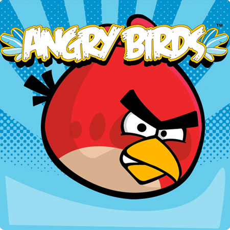 Wallpaper Angry Bird 2012