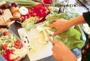 Kesalahan mengolah sayuran