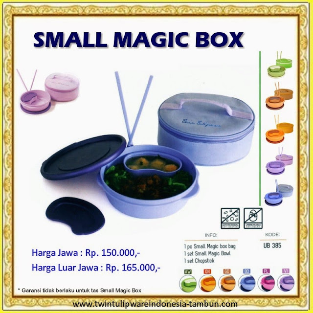 Small Magic Box Tulipware 2013