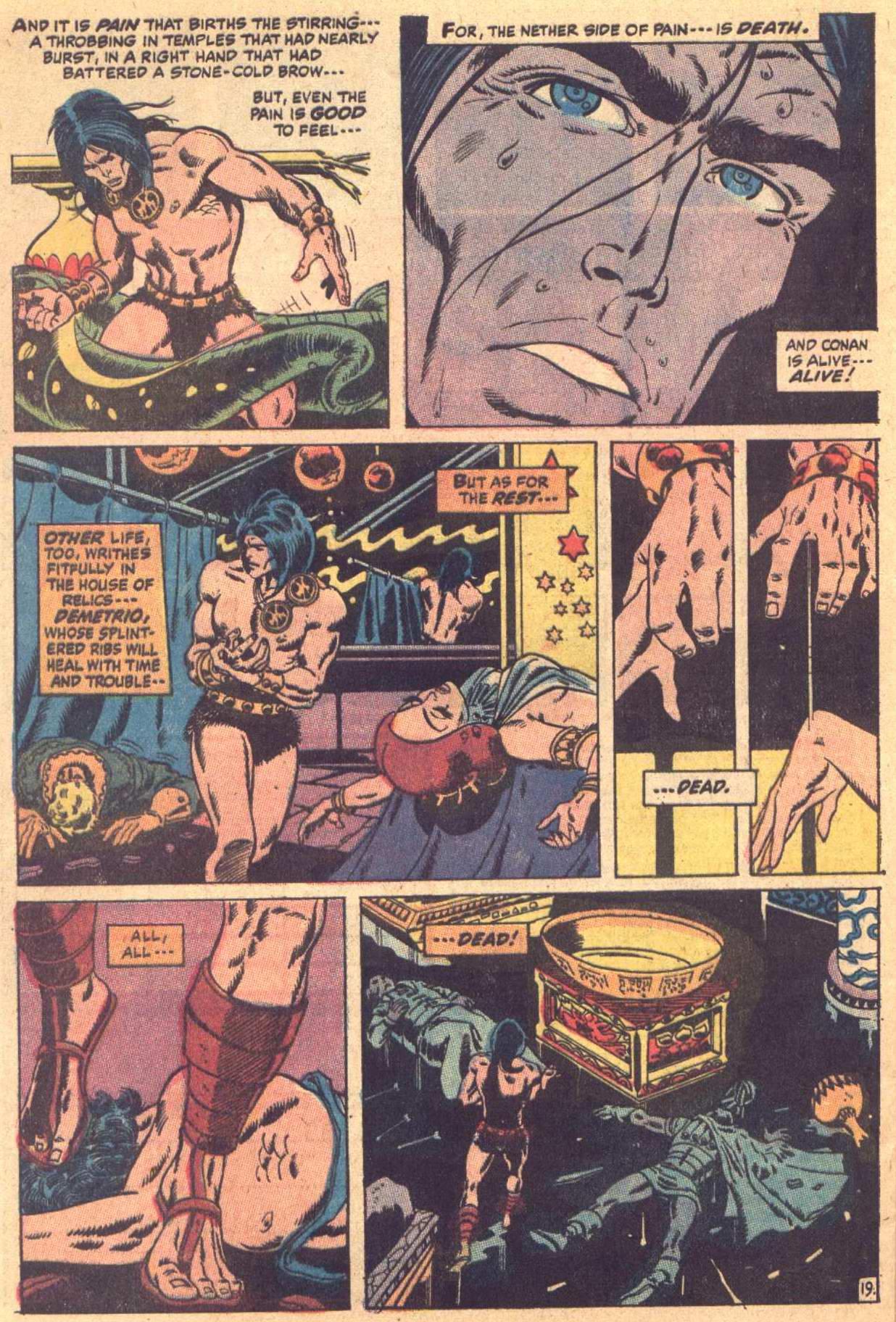 Conan the Barbarian (1970) Issue #7 #19 - English 20