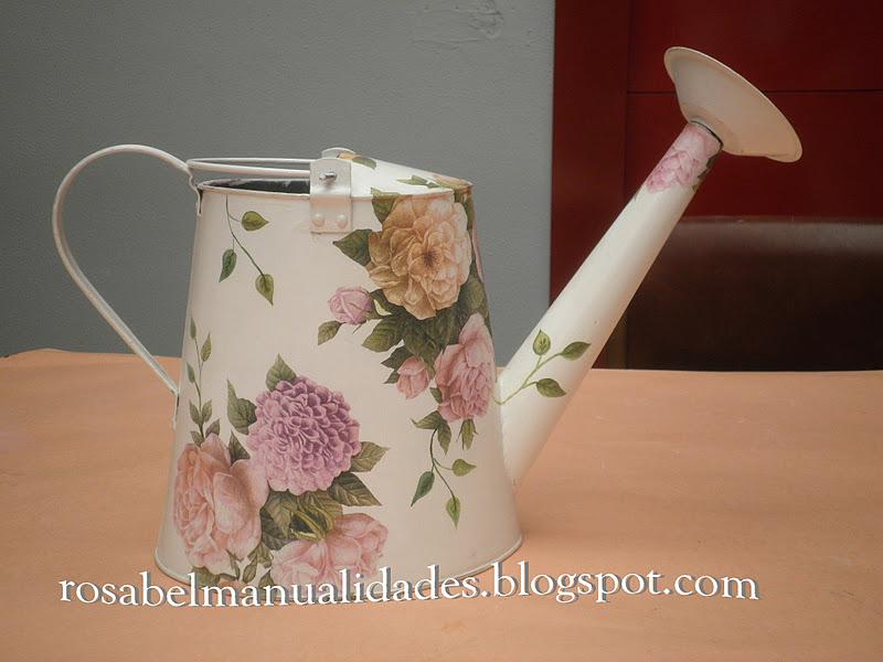 Rosabel manualidades regaderas decoradas - Rosabel manualidades ...