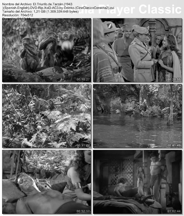 El triunfo de Tarzán | 1943 | Tarzan Triumphs