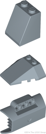 NEW LEGO Part Number 2450 in a choice of 6 colours
