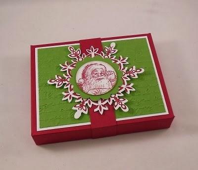 3-D Briefumschlagverpackung mit dem Falz- und Stanzbrett für Umschläge von Stampin´Up!
