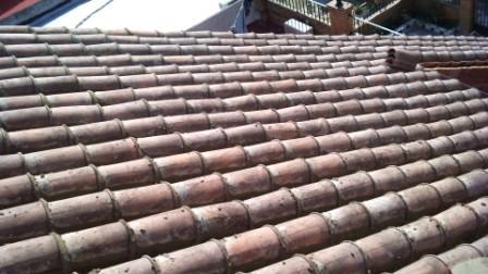 Hacemos tejados de todo tipo de tejas para madrid for Tejados sin tejas