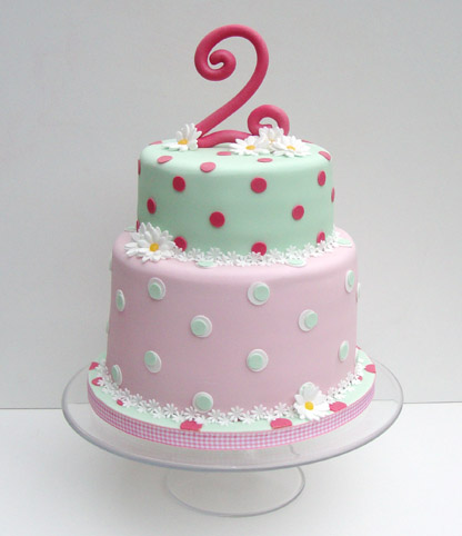 Cake Design For 2 Year Old Baby Girl : I Say What I Mean, but I Donot Say it Meanly: Happy 2nd ...