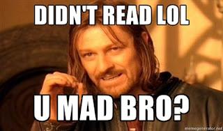 Didn't read