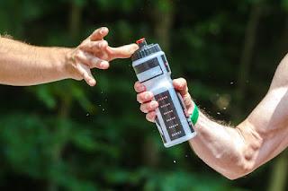 beber água para o crescimento muscular
