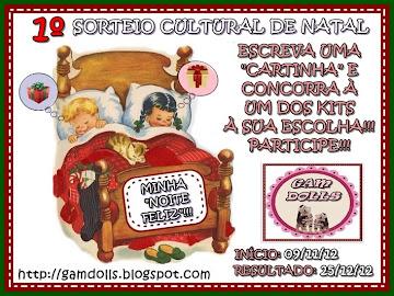 1º SORTEIO CULTURAL DE NATAL!!!
