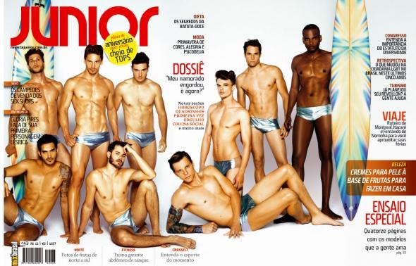 Revista Junior especial de aniversário