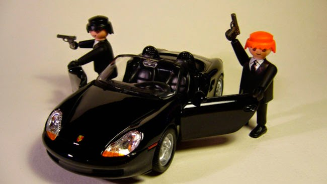 Playmobil Men in Black