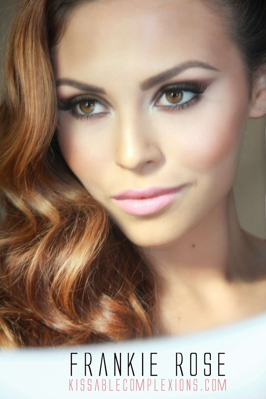 Makeup tutorial by pro mua jade of kissable complexions frankie rose a stunning fall makeup tutorial done by the very talented makeup artist jade baird of kissable complexions jade also included her personal review on baditri Choice Image