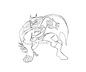 #4 Batman Coloring Page