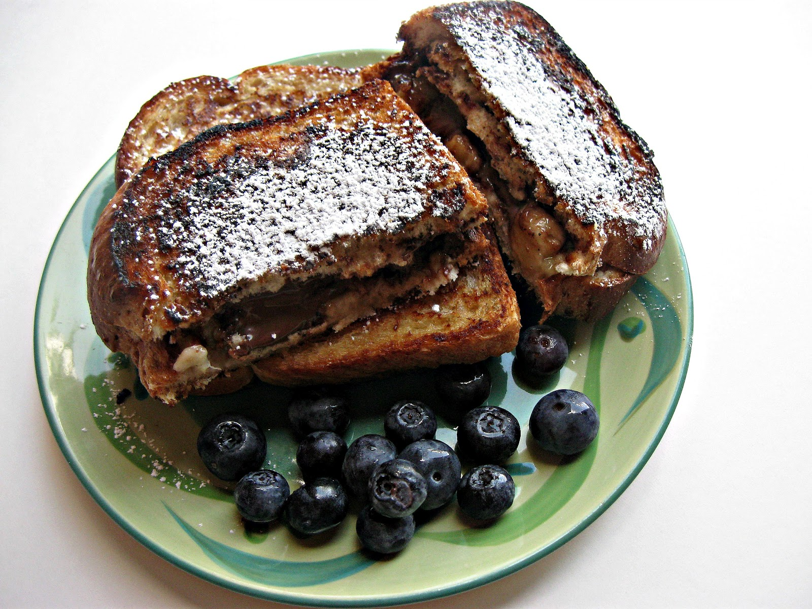 Show Tell Share: Grilled Nutella and Banana Sandwiches