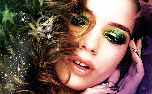 10 maquillajes con purpurina para inspirarte