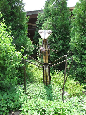 Giant Praying Mantis Sculpture Reiman Gardens
