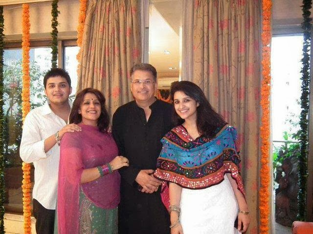 Parineeti Chopra family