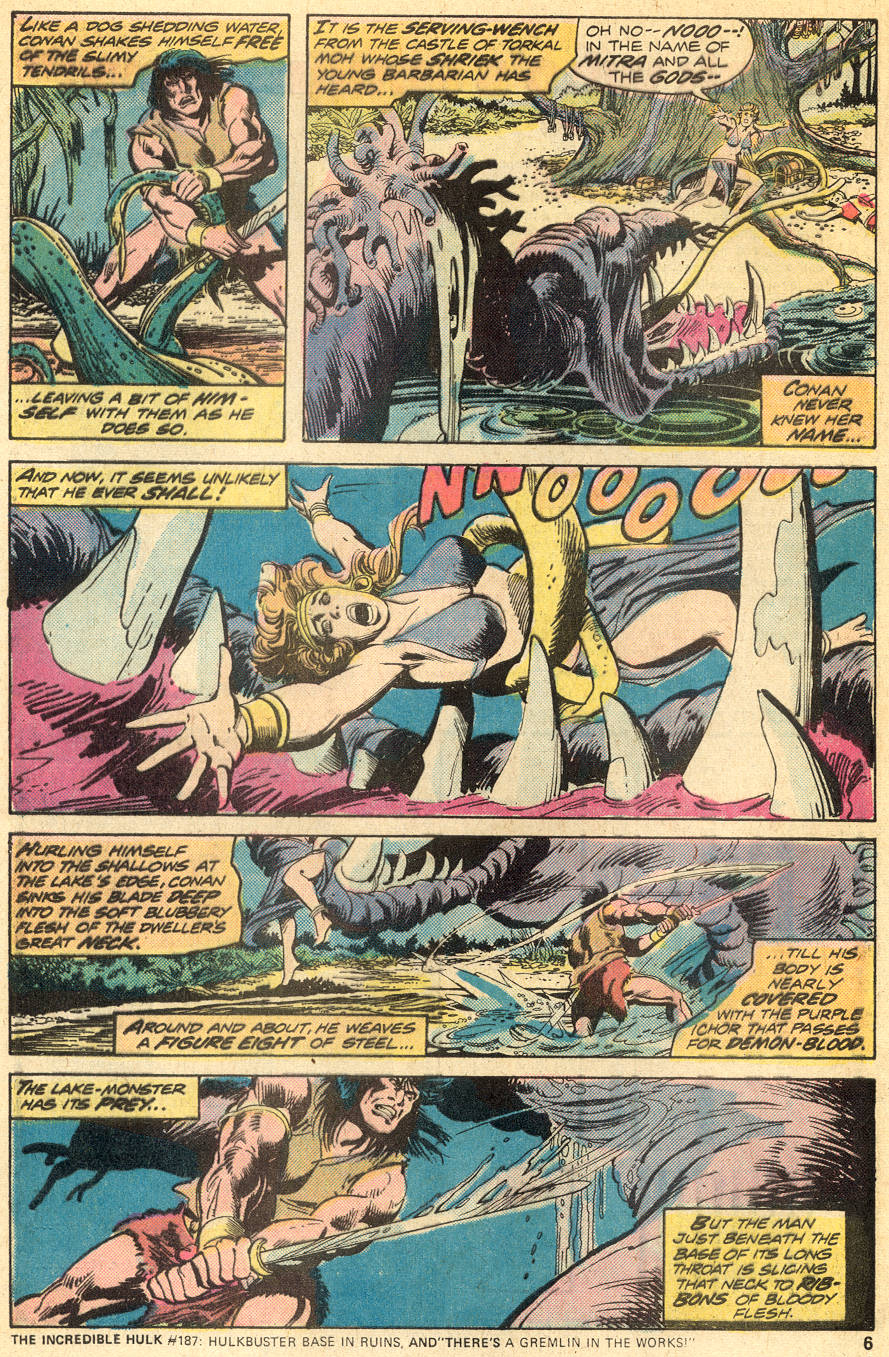 Conan the Barbarian (1970) Issue #50 #62 - English 5
