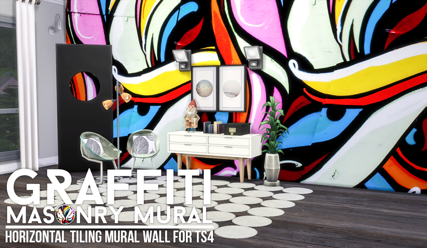 my sims 4 blog bellewood and graffiti murals by peacemaker ic