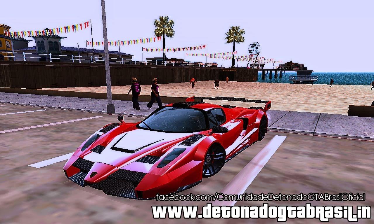 GTA SA - Ferrari Gemballa MIG-U1