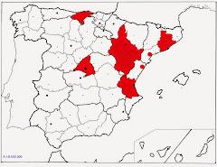 Lugares que he visitado en España