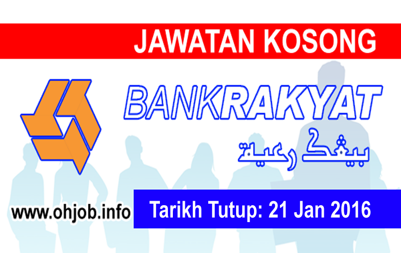 Jawatan Kerja Kosong Bank Kerjasama Rakyat Malaysia logo www.ohjob.info januari 2016