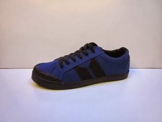 Sepatu Macbeth Vegan biru murah