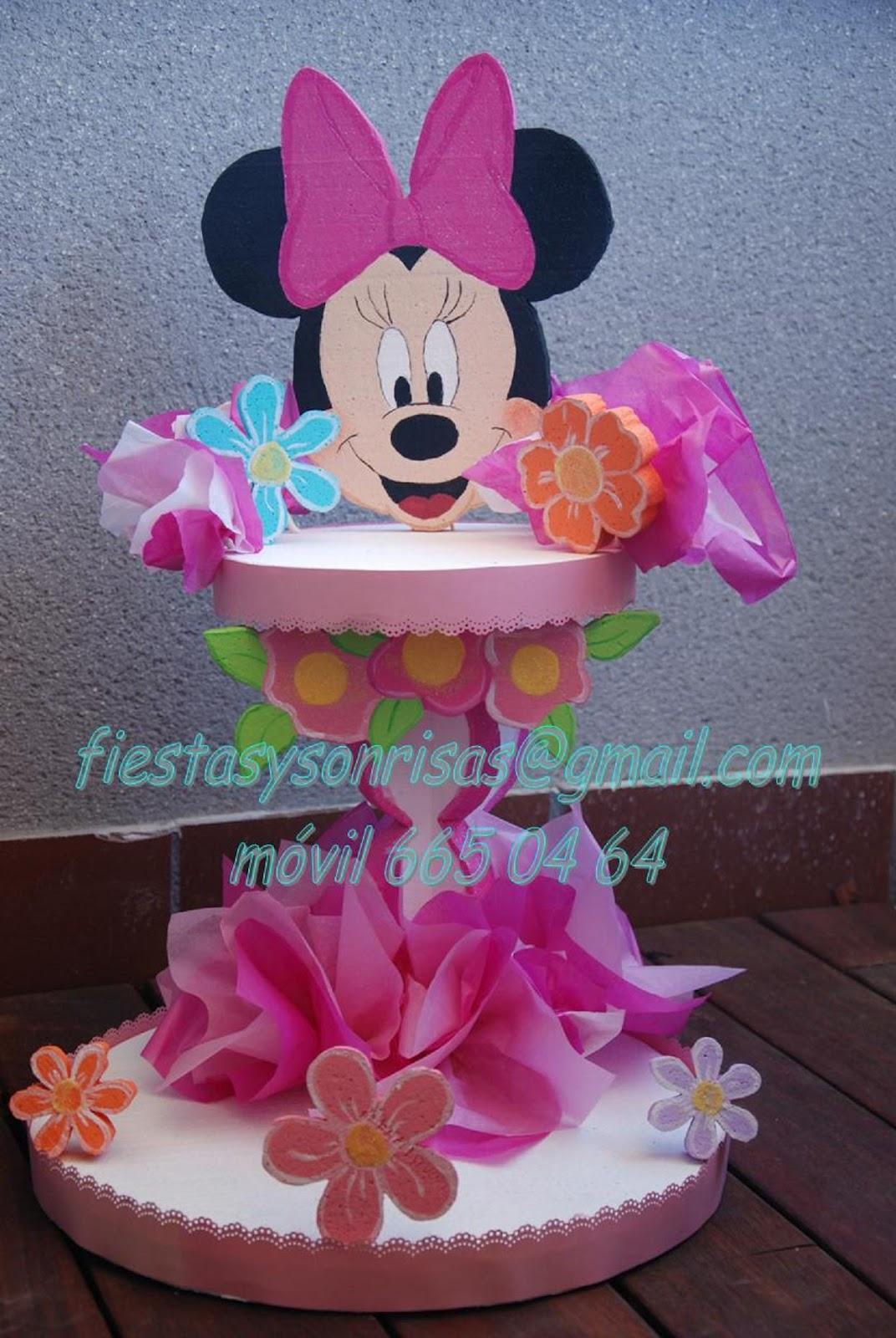 Minnie decoraciones para fiestas for Decoraciones infantiles