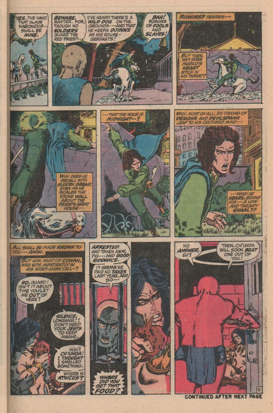 Conan the Barbarian (1970) Issue #11 #23 - English 11