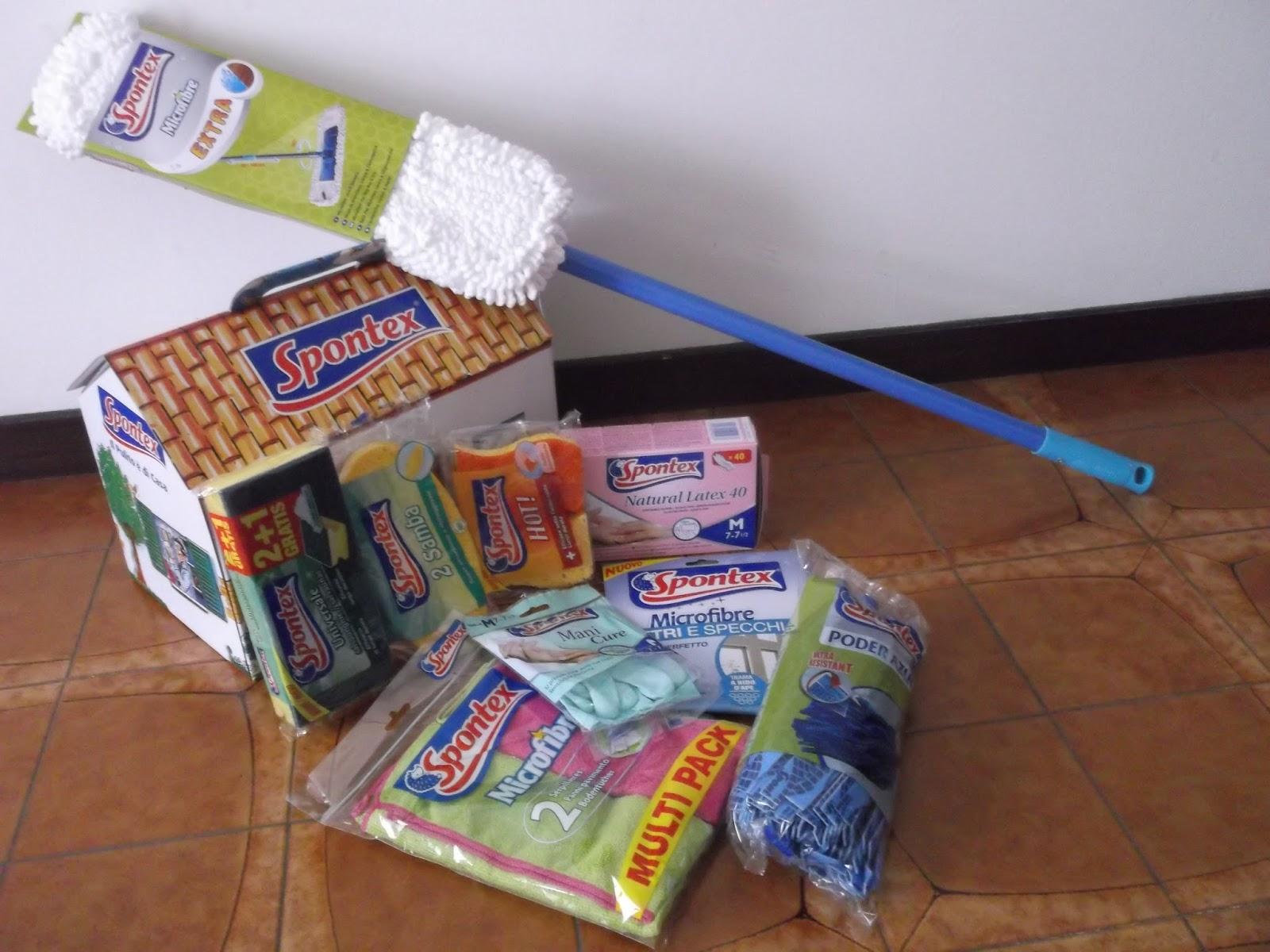 Alla ricerca di cose nuove spontex per le pulizie di casa for Alla ricerca di piani di casa
