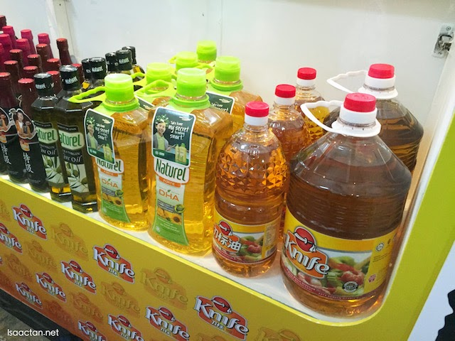 Knife Cooking Oil, their signature products